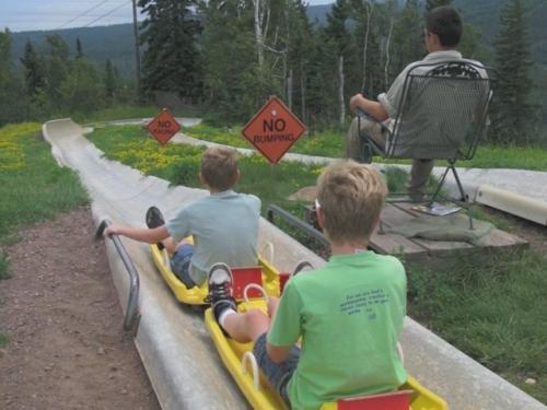 tandem alpine slide