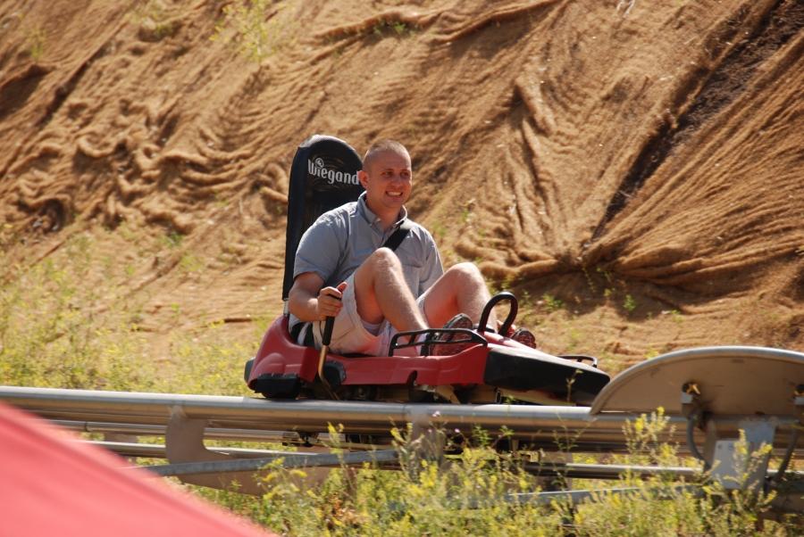 fast alpine slide